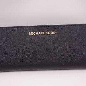 MICHAEL KORS JET SET TRAVEL FLAT SLIM